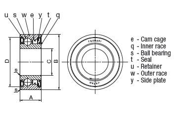 Kết quả hình ảnh cho bb-20-k bearing
