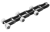 Single Pitch Plastic Outboard Roller Conveyor LAMBDA®