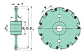 ACR810 Collector Tank Sprockets-2