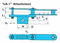 Heavy Duty Collector Chains - LA-1 Attachment