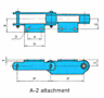 Bearing Bush Chains (RF Engineering Chain Series) - A2 Attachment