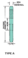 "No. 120 - 1 1/2"" Pitch - Plain Bore - A"