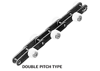 Outboard Roller Chain Series Double Pitch Type without Brake