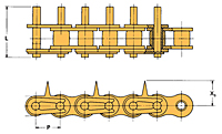 Stock Specialty Attachment Chain