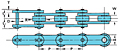 Double Pitch Conveyor Chains Oversize-2