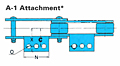 RF Conveyor Chain Basic Metric Series - A-1 Attachment