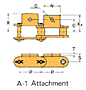 Double Pitch Attachment Chain A-1